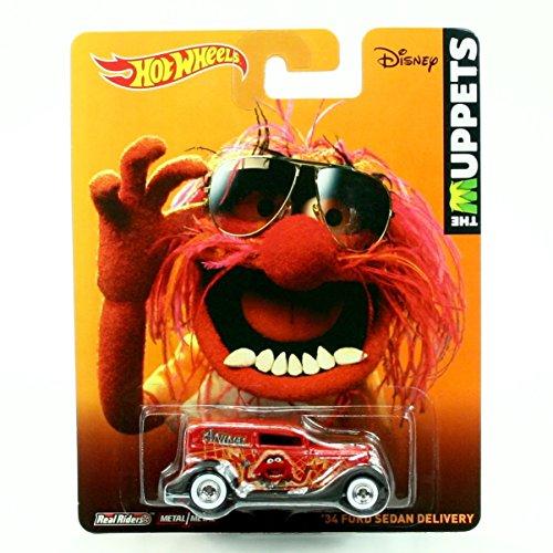 ホットウィール マテル ミニカー ホットウイール 【送料無料】Hot Wheels Animal / '34 Ford Sedan DELIVERY Disney / The Muppets 2014 Pop Culture Series 1:64 Scale Die-Cast Vehicle (BDR86)ホットウィール マテル ミニカー ホットウイール