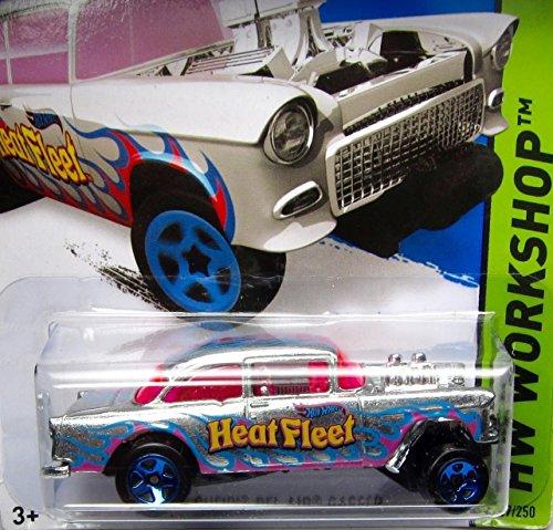 ホットウィール マテル ミニカー ホットウイール Hot Wheels, 2015 HW Workshop, '55 Bel Air Gasser Exclusive ZAMAC 207/250ホットウィール マテル ミニカー ホットウイール