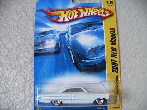 ホットウィール マテル ミニカー ホットウイール 【送料無料】FORD GALAXIE 500XL Hot Wheels 2007 New Models Series WHITE Ford Galaxie 500XL 1:64 Scale Collectible Die Cast Metal Toy Car Model #18/36ホットウィール マテル ミニカー ホットウイール