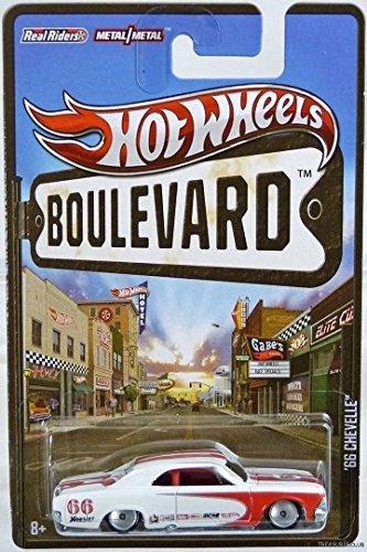 ホットウィール マテル ミニカー ホットウイール 【送料無料】Hot Wheels 2012 Boulevard Series '66 Chevelle Scale Die-cast Vehicleホットウィール マテル ミニカー ホットウイール