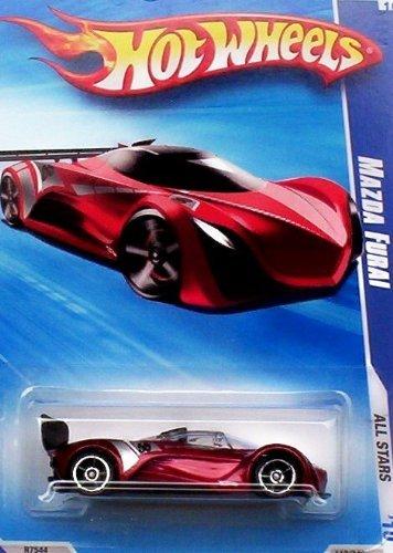 ホットウィール マテル ミニカー ホットウイール 【送料無料】Hot Wheels 2010 Mazda Furai (Red) 119/240, '10 All Stars. 1:64 Scale.ホットウィール マテル ミニカー ホットウイール