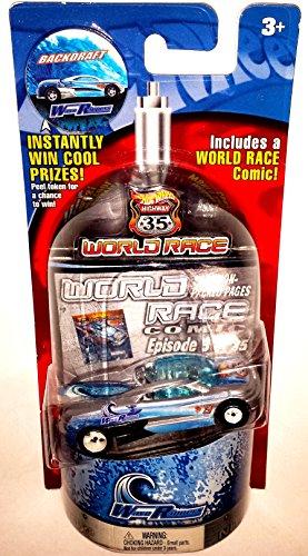 ホットウィール マテル ミニカー ホットウイール Hot Wheels World Races - Wave Rippers - Backdraft - 3/35ホットウィール マテル ミニカー ホットウイール