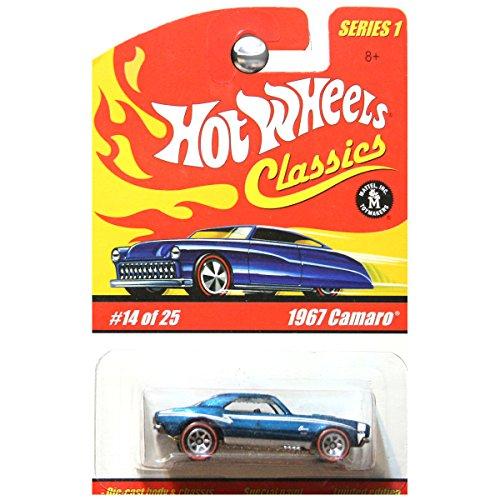 ホットウィール マテル ミニカー ホットウイール Hot Wheels Classics Series 1 1967 Camaro Chevrolet Chevy Blue OPENING HOOD #14ホットウィール マテル ミニカー ホットウイール