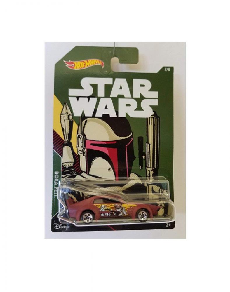 ホットウィール マテル ミニカー ホットウイール 【送料無料】Hot Wheels Star Wars Boba Fett 8/8 Of Seriesホットウィール マテル ミニカー ホットウイール