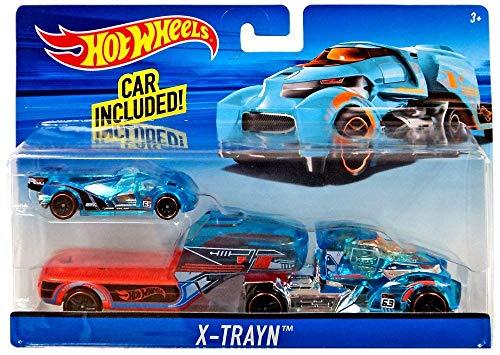 ホットウィール マテル ミニカー ホットウイール 【送料無料】Hot Wheels X-Trayn Hauler with Carホットウィール マテル ミニカー ホットウイール