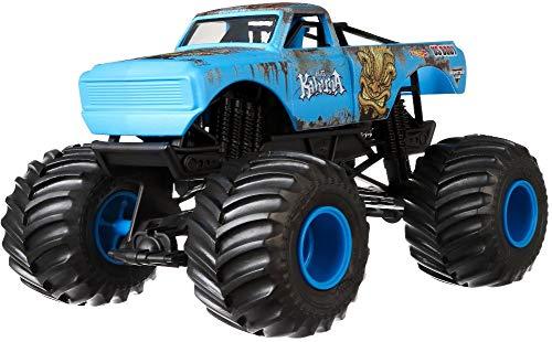 ホットウィール マテル ミニカー ホットウイール 【送料無料】Hot Wheels Monster Jam Big Kahuna Vehicle, 1:24 Scaleホットウィール マテル ミニカー ホットウイール