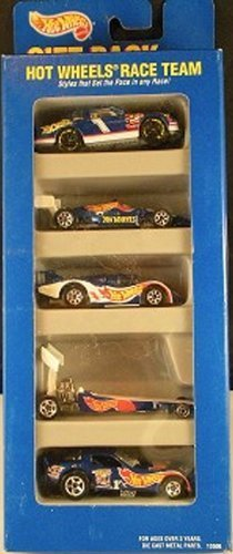 ホットウィール マテル ミニカー ホットウイール 【送料無料】Hot Wheels Race Team Gift Pack 5 Car Set of 1:64 Scale Collectible Die Cast Carsホットウィール マテル ミニカー ホットウイール