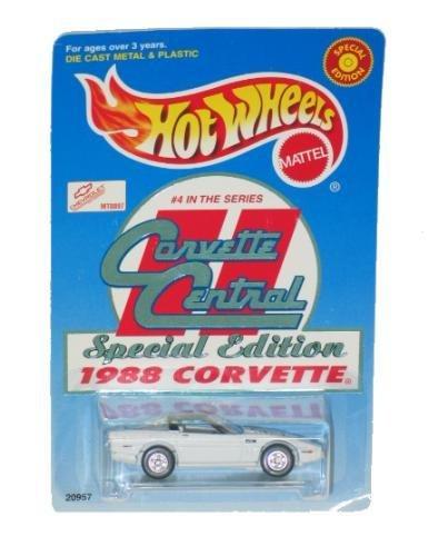 ホットウィール マテル ミニカー ホットウイール 【送料無料】1988 Corvette Central Special Edition Limited Edition 1:64 Scale Collectible Die Cast Metal Toy Car Modelホットウィール マテル ミニカー ホットウイール
