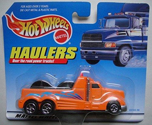 ホットウィール マテル ミニカー ホットウイール HOT WHEELS HAULERS OVER THE ROAD POWER TRUCKS, PETERBILT CABLE LINE TRUCKホットウィール マテル ミニカー ホットウイール