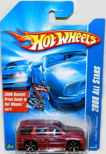 ホットウィール マテル ミニカー ホットウイール 【送料無料】Cadillac Escalade Hot Wheels 2008 Red Sport Utility Vehicle SUV Cadillac Escalade 1:64 Scale Collectible Die Cast Metal Toy Car Modelホットウィール マテル ミニカー ホットウイール