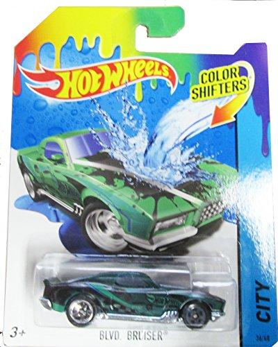 ホットウィール マテル ミニカー ホットウイール 【送料無料】Hot Wheels 2015 Color Shifters 36/48 BLVD. Bruiserホットウィール マテル ミニカー ホットウイール