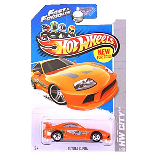 ホットウィール マテル ミニカー ホットウイール 【送料無料】Hot Wheels 2013 HW City Toyota Supra Fast & Furious Movie Orangeホットウィール マテル ミニカー ホットウイール