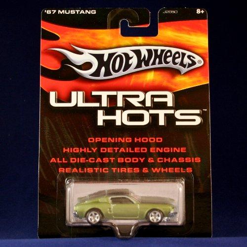 ホットウィール マテル ミニカー ホットウイール 【送料無料】Hot Wheels '67 Mustang (Olive Green) 2005 Ultra HOTS 1:64 Scale Die Cast Highly Detailed Vehicleホットウィール マテル ミニカー ホットウイール
