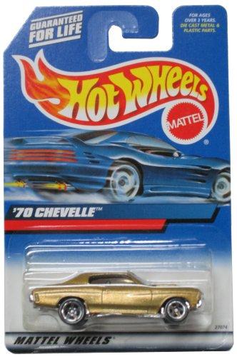 ホットウィール マテル ミニカー ホットウイール Hot Wheels 70 Chevelle Gold 5 Spokes 2000 Collector #107 1:64 Scaleホットウィール マテル ミニカー ホットウイール