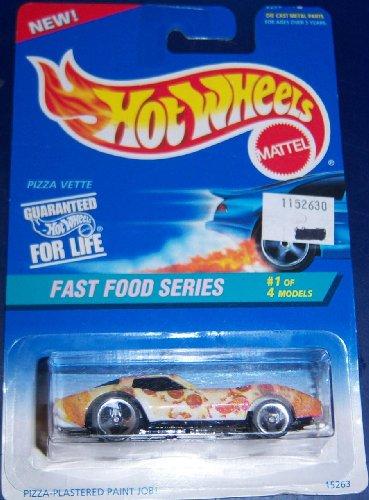ホットウィール マテル ミニカー ホットウイール Hotwheels Fast Food Series #1 Pizza Vetteホットウィール マテル ミニカー ホットウイール