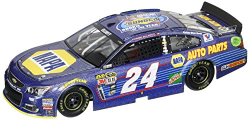ライオネルレーシング ミニカー 模型 アメリカ 【送料無料】Lionel Racing Chase Elliott #24 NAPA Sunoco Rookie 2016 Chevrolet SS 1:24 Scale ARC HOTO Galaxy Finish Official Diecast of The NASCAR Cup Seriesライオネルレーシング ミニカー 模型 アメリカ