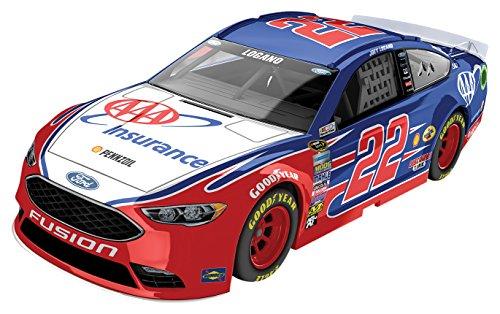 ライオネルレーシング ミニカー 模型 アメリカ Lionel Racing Joey Logano #22 AAA Insurance 2016 Ford Fusion NASCAR Color Chrome 1:24 Scale Diecast Carライオネルレーシング ミニカー 模型 アメリカ