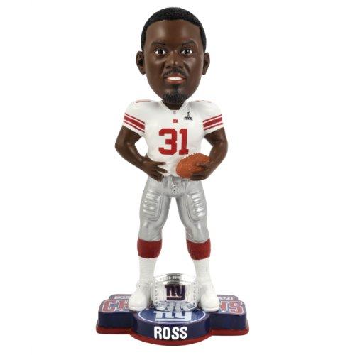 ボブルヘッド バブルヘッド 首振り人形 ボビンヘッド BOBBLEHEAD NFL New York Giants Super Bowl XLVI Champions Ring Bobble, A. Rossボブルヘッド バブルヘッド 首振り人形 ボビンヘッド BOBBLEHEAD