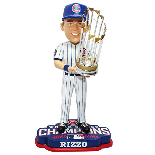 ボブルヘッド バブルヘッド 首振り人形 ボビンヘッド BOBBLEHEAD FOCO MLB Chicago Cubs Anthony Rizzo Unisex Rizzo A. #44 2016 World Series Champions 8