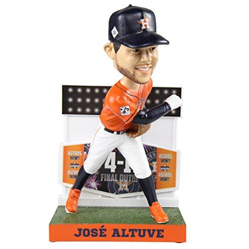 ボブルヘッド バブルヘッド 首振り人形 ボビンヘッド BOBBLEHEAD 【送料無料】Jose Altuve Houston Astros Jose Altuve Final Out Bobblehead Bobbleheadボブルヘッド バブルヘッド 首振り人形 ボビンヘッド BOBBLEHEAD