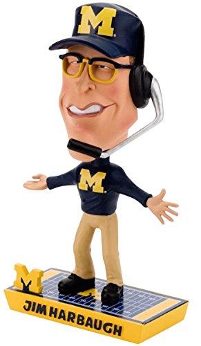ボブルヘッド バブルヘッド 首振り人形 ボビンヘッド BOBBLEHEAD Michigan Harbaugh J. Caricature Bobbleボブルヘッド バブルヘッド 首振り人形 ボビンヘッド BOBBLEHEAD