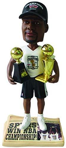 ボブルヘッド バブルヘッド 首振り人形 ボビンヘッド BOBBLEHEAD Tim Duncan (San Antonio Spurs) 5X NBA Champ Base (2014 T-Shirt/Hat) 3X Finals MVP Trophy Bobble Head Exclusive #/300ボブルヘッド バブルヘッド 首振り人形 ボビンヘッド BOBBLEHEAD