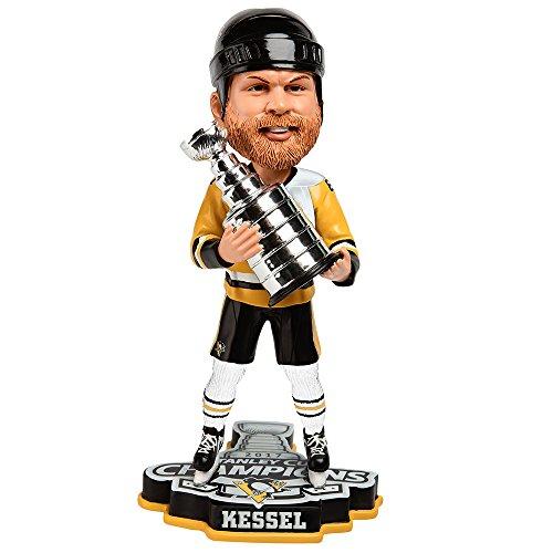 ボブルヘッド バブルヘッド 首振り人形 ボビンヘッド BOBBLEHEAD FOCO Pittsburgh Penguins Kessel P. #81 2017 NHL Champions 8