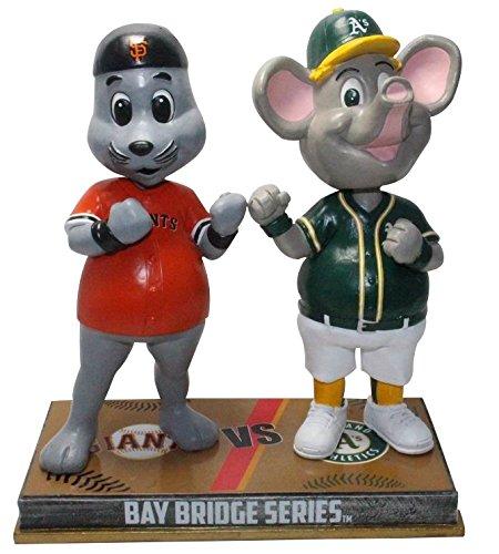 ボブルヘッド バブルヘッド 首振り人形 ボビンヘッド BOBBLEHEAD FOCO San Francisco Giants and Oakland Athletics - Lou Seal and Stomper Rivalry Special Edition Bobbleheadボブルヘッド バブルヘッド 首振り人形 ボビンヘッド BOBBLEHEAD