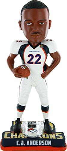 ボブルヘッド バブルヘッド 首振り人形 ボビンヘッド BOBBLEHEAD 【送料無料】FOCO NFL Denver Broncos C.J. Anderson #22 Super Bowl 50 Champions Bobble Head Toy, One Size, Whiteボブルヘッド バブルヘッド 首振り人形 ボビンヘッド BOBBLEHEAD