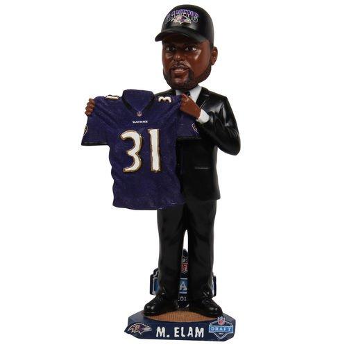 ボブルヘッド バブルヘッド 首振り人形 ボビンヘッド BOBBLEHEAD FOCO Matt Elam Baltimore Ravens 2013 NFL Draft Day Bobbleheadボブルヘッド バブルヘッド 首振り人形 ボビンヘッド BOBBLEHEAD
