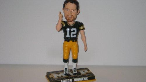 ボブルヘッド バブルヘッド 首振り人形 ボビンヘッド BOBBLEHEAD 【送料無料】Aaron Rodgers NFL MVP Green Bay Packers Bobbleheadボブルヘッド バブルヘッド 首振り人形 ボビンヘッド BOBBLEHEAD