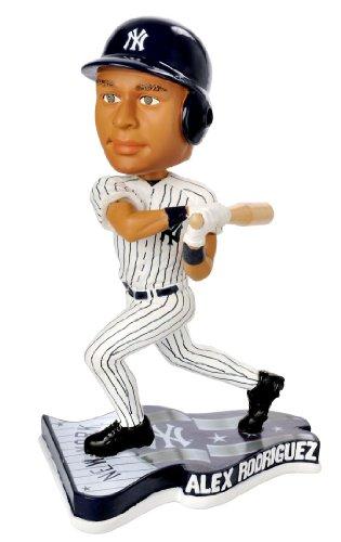 ボブルヘッド バブルヘッド 首振り人形 ボビンヘッド BOBBLEHEAD ALEX RODRIGUEZ Pennant Base BobbleHead Home New York Yankeesボブルヘッド バブルヘッド 首振り人形 ボビンヘッド BOBBLEHEAD