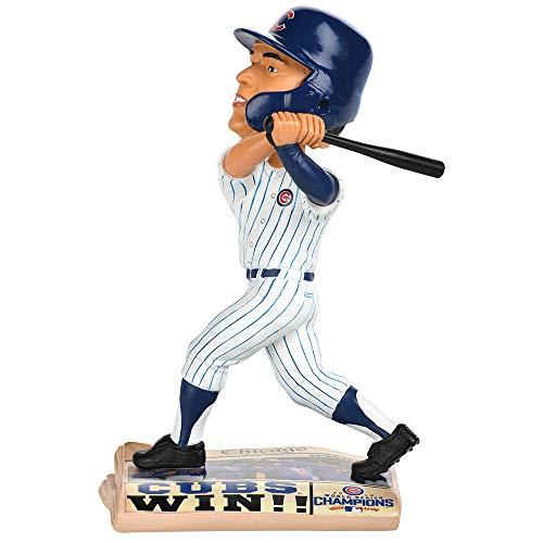 ボブルヘッド バブルヘッド 首振り人形 ボビンヘッド BOBBLEHEAD 【送料無料】Forever Collectibles Javier Baez Chicago Cubs 2016 World Series Newspaper Base Bobblehead MLBボブルヘッド バブルヘッド 首振り人形 ボビンヘッド BOBBLEHEAD
