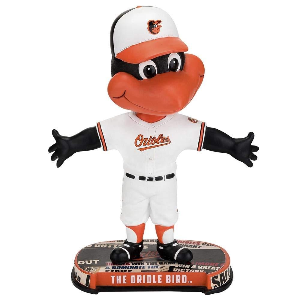 ボブルヘッド バブルヘッド 首振り人形 ボビンヘッド BOBBLEHEAD Forever Collectibles Baltiomore Orioles Mascot Baltiomore Orioles Headline Bobblehead MLBボブルヘッド バブルヘッド 首振り人形 ボビンヘッド BOBBLEHEAD