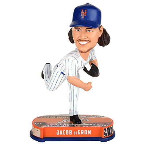 ボブルヘッド バブルヘッド 首振り人形 ボビンヘッド BOBBLEHEAD FOCO MLB New York Mets deGrom #48 Headline Bobble, Team Color, One Sizeボブルヘッド バブルヘッド 首振り人形 ボビンヘッド BOBBLEHEAD