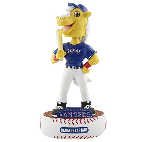 ボブルヘッド バブルヘッド 首振り人形 ボビンヘッド BOBBLEHEAD 【送料無料】FOCO MLB Texas Rangers Mascot Baller Bobble, Team Color, One Sizeボブルヘッド バブルヘッド 首振り人形 ボビンヘッド BOBBLEHEAD
