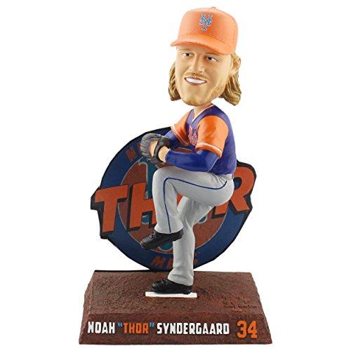 ボブルヘッド バブルヘッド 首振り人形 ボビンヘッド BOBBLEHEAD Forever Collectibles Noah Syndergaard New York Mets Players Weekend - Thor Bobblehead MLBボブルヘッド バブルヘッド 首振り人形 ボビンヘッド BOBBLEHEAD