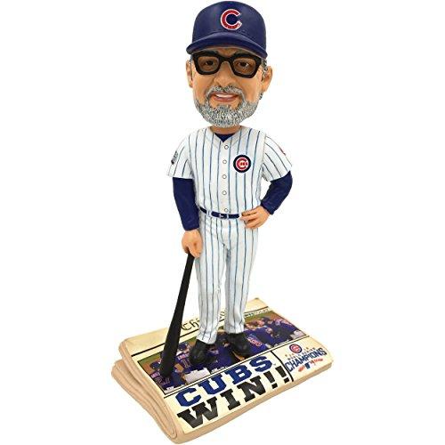 ボブルヘッド バブルヘッド 首振り人形 ボビンヘッド BOBBLEHEAD Forever Collectibles Chicago Cubs Joe Maddon 2016 World Series Champions Newspaper Bobbleheadボブルヘッド バブルヘッド 首振り人形 ボビンヘッド BOBBLEHEAD