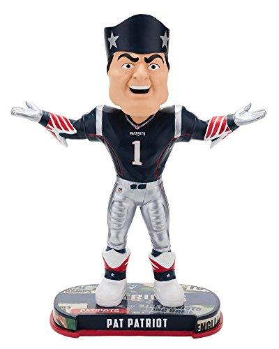 ボブルヘッド バブルヘッド 首振り人形 ボビンヘッド BOBBLEHEAD Forever Collectibles New England Patriots Mascot New England Patriots Headline Bobblehead NFLボブルヘッド バブルヘッド 首振り人形 ボビンヘッド BOBBLEHEAD