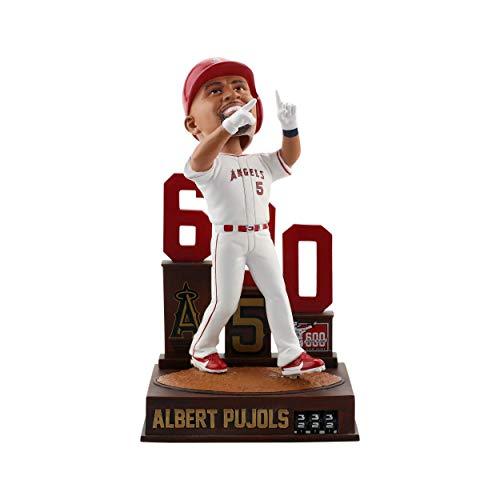ボブルヘッド バブルヘッド 首振り人形 ボビンヘッド BOBBLEHEAD Forever Collectibles Albert Pujols Los Angeles Angels 600 Home Run - Home Run Tracker Bobblehead MLBボブルヘッド バブルヘッド 首振り人形 ボビンヘッド BOBBLEHEAD