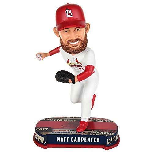ボブルヘッド バブルヘッド 首振り人形 ボビンヘッド BOBBLEHEAD Forever Collectibles Matt Carpenter St Louis Cardinals Headline Special Edition Bobblehead MLBボブルヘッド バブルヘッド 首振り人形 ボビンヘッド BOBBLEHEAD