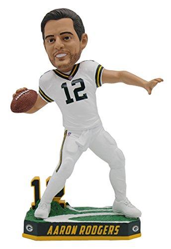 ボブルヘッド バブルヘッド 首振り人形 ボビンヘッド BOBBLEHEAD 【送料無料】Forever Collectibles Aaron Rodgers Green Bay Packers Special Edition Color Rush Bobblehead NFLボブルヘッド バブルヘッド 首振り人形 ボビンヘッド BOBBLEHEAD