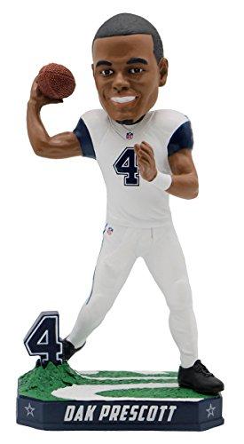 ボブルヘッド バブルヘッド 首振り人形 ボビンヘッド BOBBLEHEAD Forever Collectibles Dak Prescott Dallas Cowboys Special Edition Color Rush Bobblehead NFLボブルヘッド バブルヘッド 首振り人形 ボビンヘッド BOBBLEHEAD