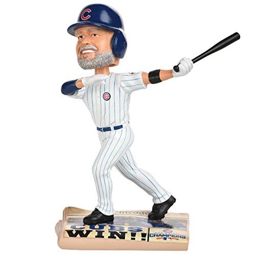 ボブルヘッド バブルヘッド 首振り人形 ボビンヘッド BOBBLEHEAD Forever Collectibles David Ross Chicago Cubs 2016 World Series Newspaper Base Bobblehead MLBボブルヘッド バブルヘッド 首振り人形 ボビンヘッド BOBBLEHEAD