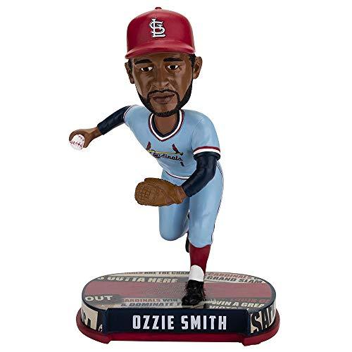 ボブルヘッド バブルヘッド 首振り人形 ボビンヘッド BOBBLEHEAD Forever Collectibles Ozzie Smith St Louis Cardinals Headline Special Edition Bobblehead MLBボブルヘッド バブルヘッド 首振り人形 ボビンヘッド BOBBLEHEAD