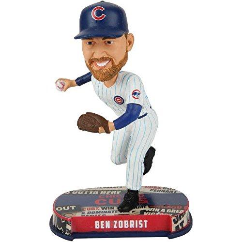 ボブルヘッド バブルヘッド 首振り人形 ボビンヘッド BOBBLEHEAD Forever Collectibles Ben Zobrist Chicago Cubs Special Edition Headline Bobblehead MLBボブルヘッド バブルヘッド 首振り人形 ボビンヘッド BOBBLEHEAD