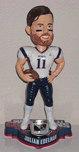 ボブルヘッド バブルヘッド 首振り人形 ボビンヘッド BOBBLEHEAD Forever Collectibles New England Patriots Julian Edelman Super Bowl 51 Champions Player Bobbleheadボブルヘッド バブルヘッド 首振り人形 ボビンヘッド BOBBLEHEAD