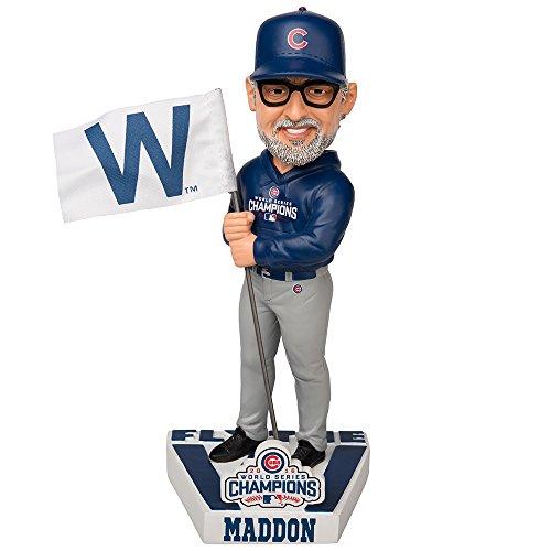 ボブルヘッド バブルヘッド 首振り人形 ボビンヘッド BOBBLEHEAD 【送料無料】Forever Collectibles Joe Maddon Chicago Cubs 2016 World Series W Flag Special Edition Bobblehead MLBボブルヘッド バブルヘッド 首振り人形 ボビンヘッド BOBBLEHEAD