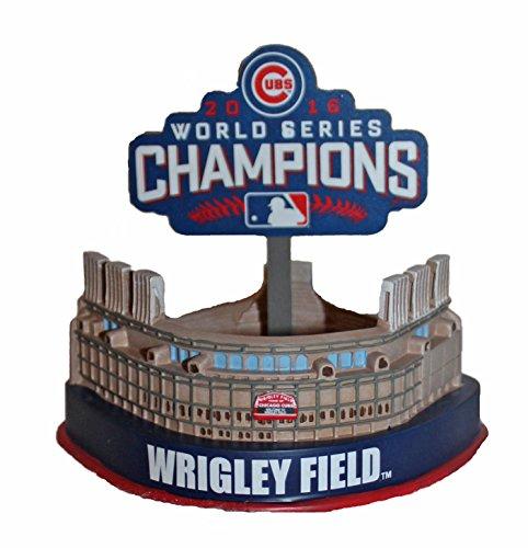 ボブルヘッド バブルヘッド 首振り人形 ボビンヘッド BOBBLEHEAD Forever Collectibles Wrigley Field Replica Stadium Chicago Cubs 2016 World Series MLBボブルヘッド バブルヘッド 首振り人形 ボビンヘッド BOBBLEHEAD