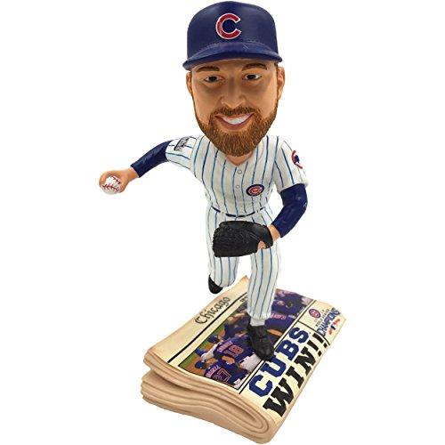 ボブルヘッド バブルヘッド 首振り人形 ボビンヘッド BOBBLEHEAD Forever Collectibles Chicago Cubs Ben Zobrist 2016 World Series Champions Newspaper Bobbleheadボブルヘッド バブルヘッド 首振り人形 ボビンヘッド BOBBLEHEAD